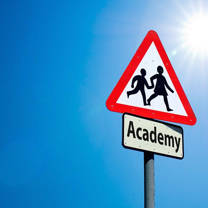 Academy signpost