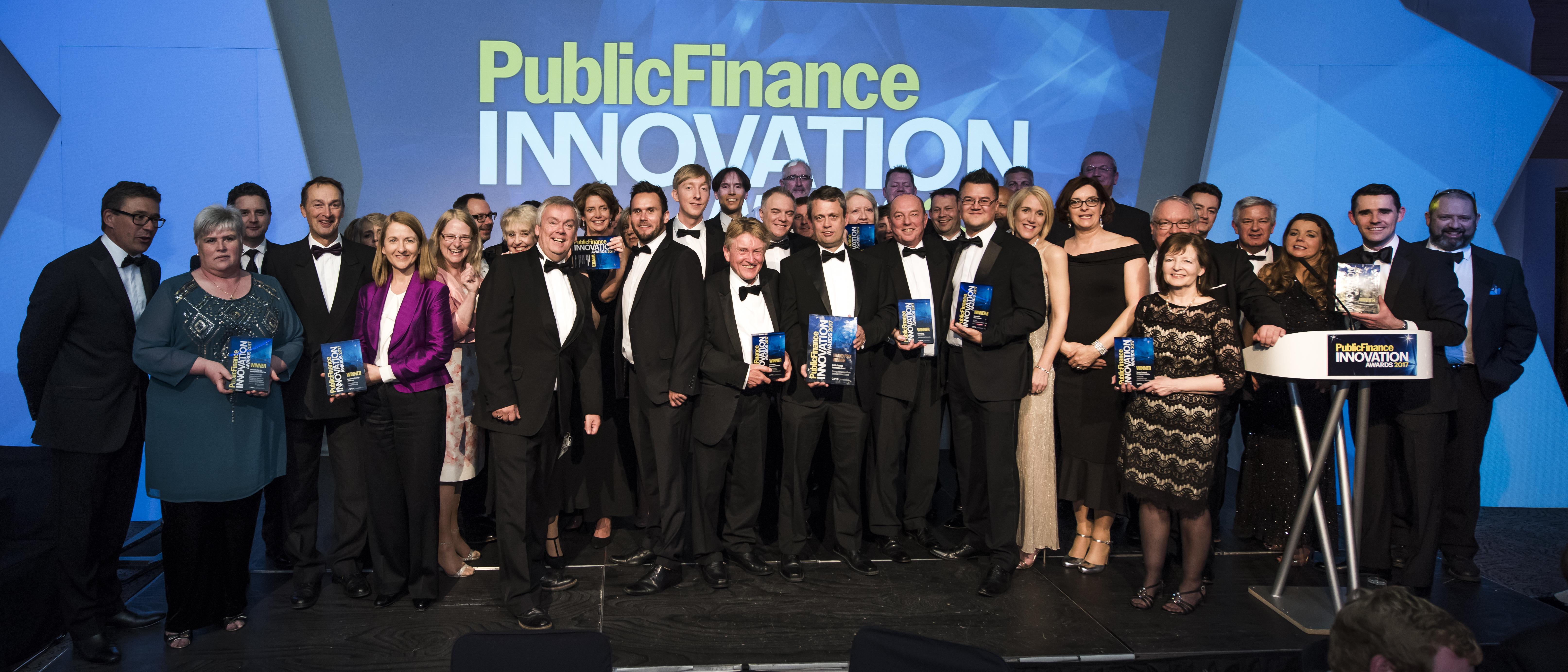PF Innovation Awards winners