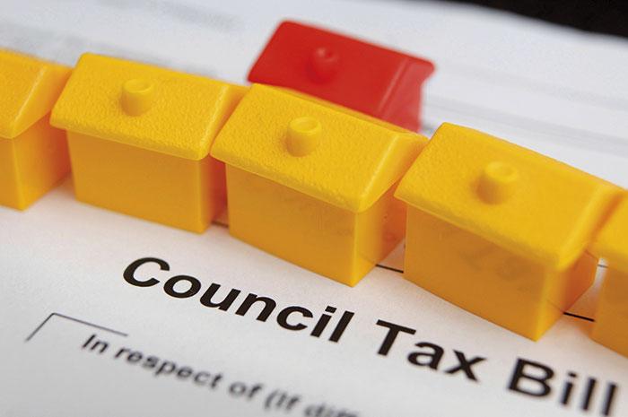 Council tax Alamy