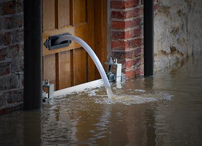 Flooding door_Shutterstock