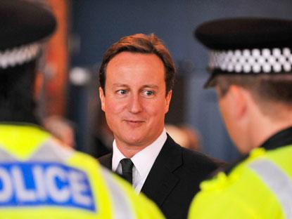 Cameron & police