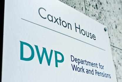 DWP sign, Photo: Kesteven