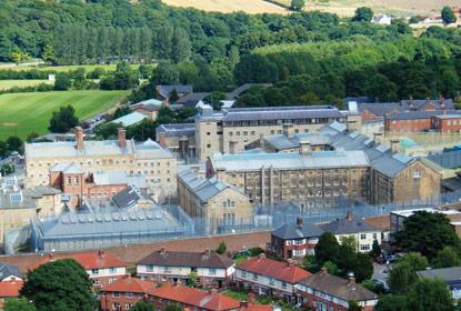 Durham prison, Photo: Rex