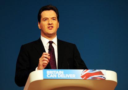Osborne announced £10bn in welfare cuts
