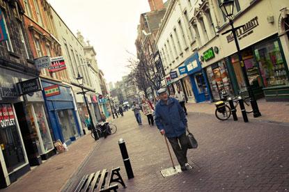 Hull shopping street