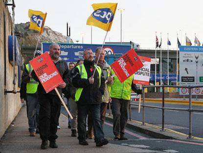 PCS strikers