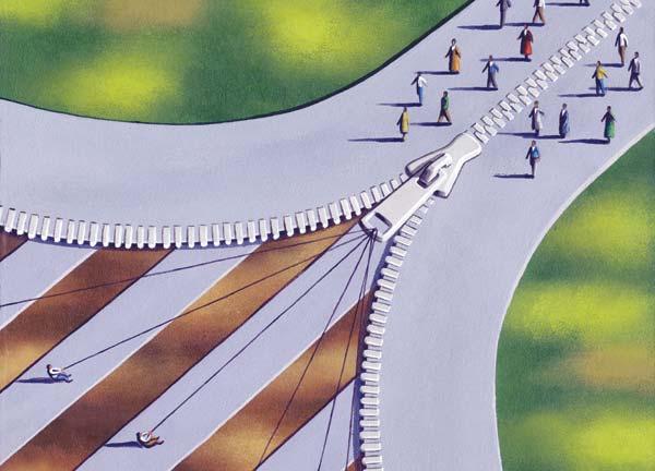 Shared services ZIP, Illustration: James Fryer
