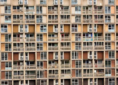Social housing - Alamy