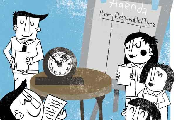 meetings illustration WOOD