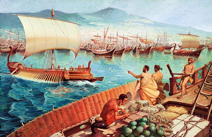 Ancient Greek merchants