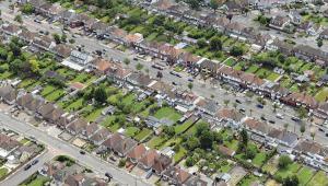 Council houses - rectangle