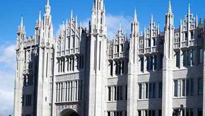 Marischal College building, Aberdeen - iStock