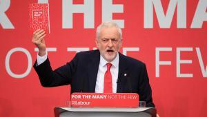 Jeremy Corbyn manifesto launch May 2017