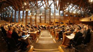 Scottish Parliament chamber