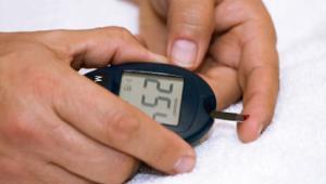 Diabetes blood test