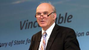 Vince Cable announces business bank