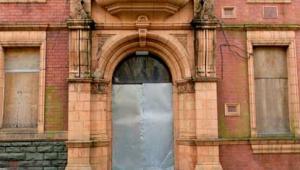 Derelict town hall