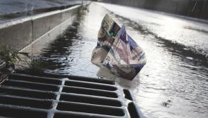 Money down the drain? Image: iStock
