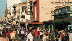 Zimbabwe market street