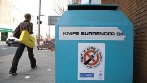 Knife Surrender Alamy