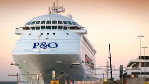 P & O ferry
