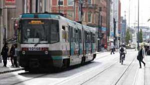 Manchester Metrolink trams