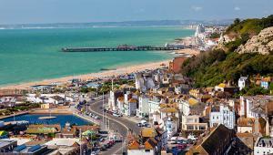 Hastings, coastal town