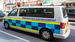 Immigration van ISTOCK