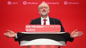 Jeremy Corbyn - Labour conference Sept 2017. One use only