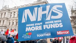 NHS + health spending