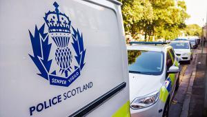 Police Scotland van