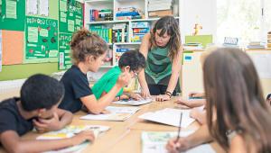 Spain school children