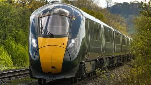 Train in Wales