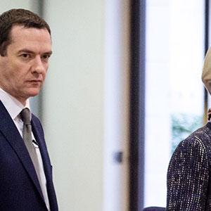 George Osborne & Christine Lagarde