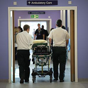 NHS hospital - istock