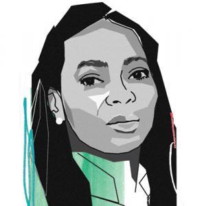 Margaret Casely-Hayford - art: Paddy Mills