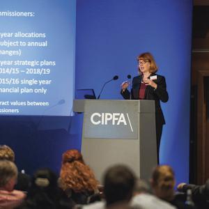CIPFA conference session
