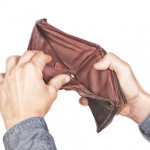 Empty wallet - image: Shutterstock