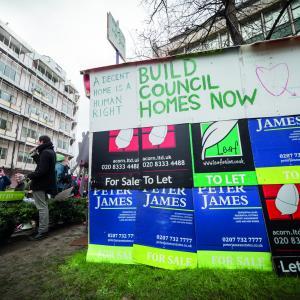 Lewisham housing. Alamy