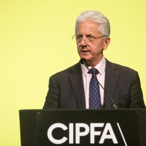 Mike Blackburn CIPFA conference