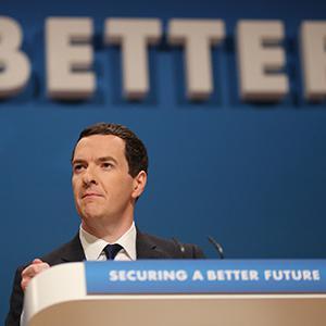 George Osborne at Conservative conference 2014
