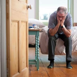 Depressed Man, Photo: Alamy