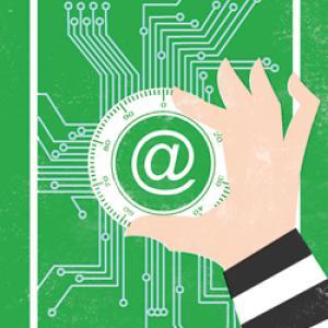 Online Security, Illustration: Chris Dunn
