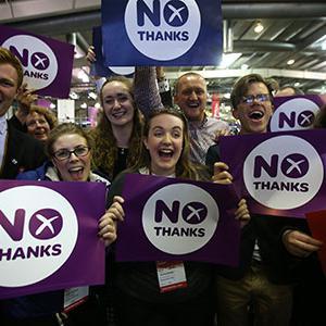 Scotland votes No