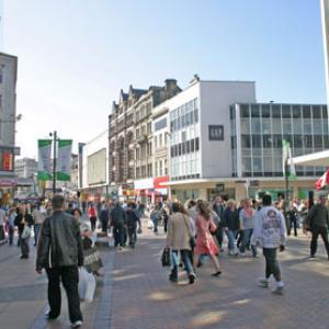 Shoppers Liverpool Shutterstock