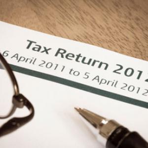 Tax return Photo: Shutterstock