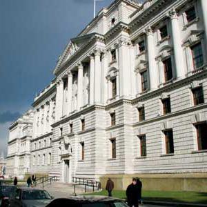 Treasury spending cuts