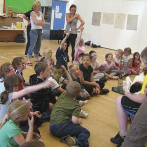 Children's group Barca-Leeds