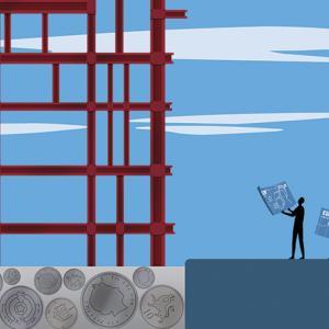 Construction illustration, PFI