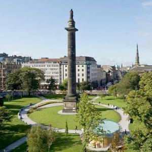St Andrew Square in Edinburgh